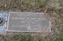 Margerie Marie <I>Popp</I> Sanderson