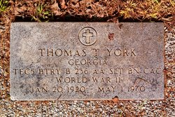 Thomas T York