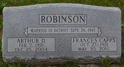 """Eleanor Frances """"Fran"""" <I>Capps</I> Robinson"""