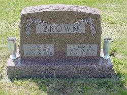 Velma Mary <I>Robinson</I> Brown