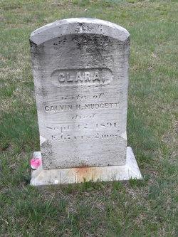 Clara <I>Fisher</I> Mudgett