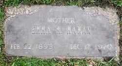 Emma Mary <I>Bloedorn</I> Mahan