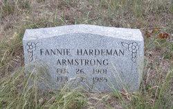 Fannie <I>Hardeman</I> Armstrong