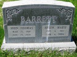 "John Thomas ""Jack"" Barrett"