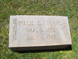 Willie E Abrams