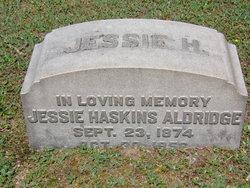 Jessie <I>Haskins</I> Aldridge