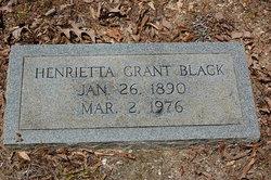 Henrietta <I>Grant</I> Black