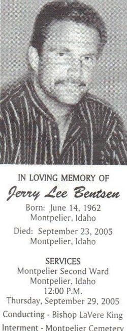 Jerry Lee Bentsen