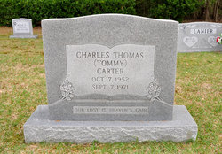 """Charles Thomas """"Tommy"""" Carter"""