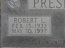 Robert Lewis Presley