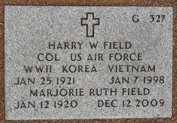 Harry W Field