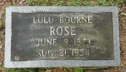 Lula May <I>Bourne</I> Rose