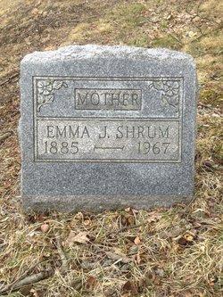 """Emma J. """"Nettie"""" <I>Kelly</I> Shrum"""