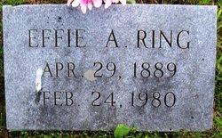Effie Alice <I>Long</I> Ring