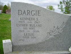 Esther <I>Ruland</I> Dargie