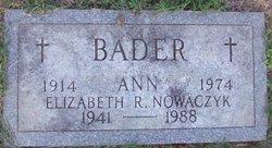 Elizabeth R. Nowaczyk