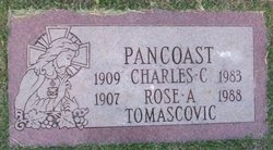 Rose A. <I>Tomascovic</I> Pancoast