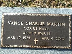 """Vance Charlie """"V.C."""" Martin"""