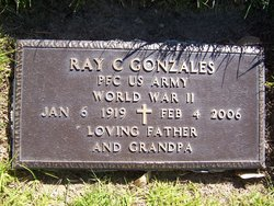 "PFC Ray Costelo ""Mickey"" Gonzáles"
