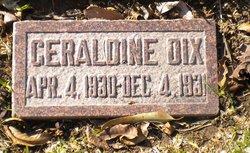 Geraldine Dix