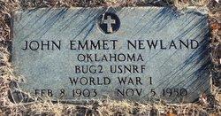 """John Emmett """"Jack"""" Newland"""