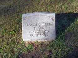 Francis Childria Wilson Jr.