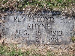 Rev Floyd H Rhyne