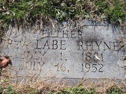 Rev Labe Rhyne