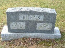 Goldie B. <I>Eveland</I> Burns
