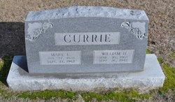 Mary E. <I>Prince</I> Currie