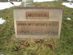 Anna Barbara <I>McCartney</I> Bole