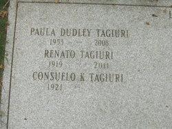 Paula Dudley <I>Dudley</I> Tagiuri