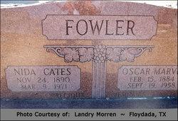 Nida <I>Cates</I> Fowler