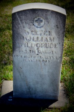 Pvt Walter William Wildgrube