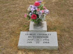 Georgie B <I>Chambley</I> Hutchinson
