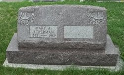 Mary A Ackerman