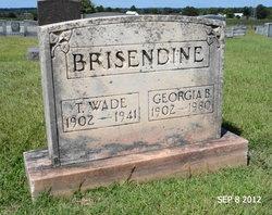 Georgia Elizabeth <I>Bennett</I> Brisendine