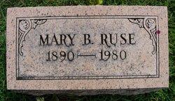 Mary Barbar <I>Hamilton</I> Ruse