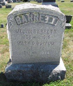 Mary D. <I>Buffum</I> Barrett