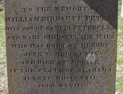 William Birdseye Peters