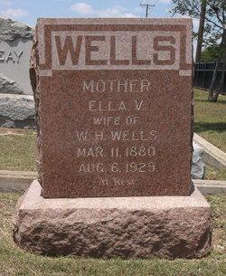 """Elvira Vera """"Ella"""" <I>Brown</I> Wells"""
