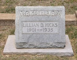 Lillian D. <I>Jones</I> Hicks