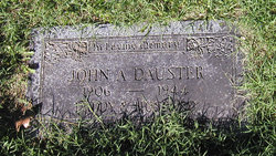 Johnny Dauster
