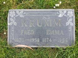 Emma Amelia <I>Geiger</I> Krumm