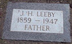 "Johann H ""John"" Leeby"