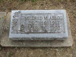 Mildred M <I>Sitzes</I> Abegg
