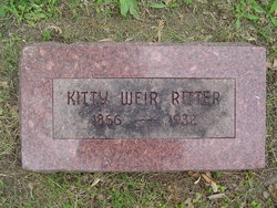 "Katherine ""Kitty"" <I>Weir</I> Ritter"