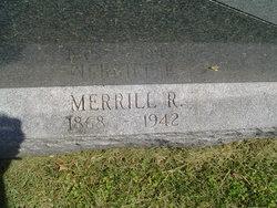 Merrill Robert Weir