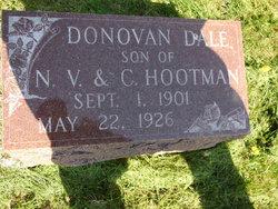 Donovan Dale Hootman