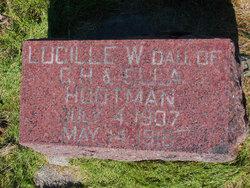 Lucille Weltha Hootman